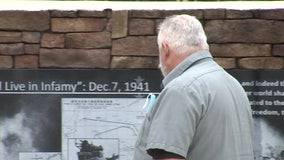 Tampa man honors those who lost their lives in the attack on Pearl Harbor