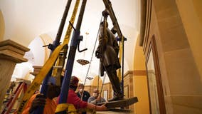 Virginia removes Robert E. Lee statue from US Capitol, governor says