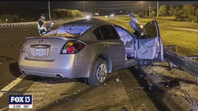 Florida troopers investigate deadly wrong-way crash on I-75 in Sarasota County