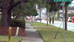 Crash leads to South Tampa gas leak