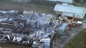 Dade City poultry farm fire likely killed 250,000 chickens, officials say