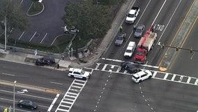 Pinellas deputy injured in South St. Pete crash
