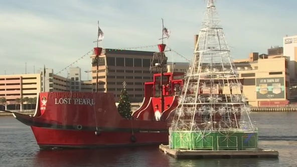 Pirate Water Taxi offering Christmas cruises