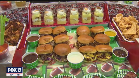 Dr. BBQ's football stadium tailgate spread