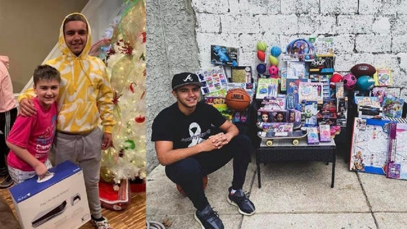 Teen gives PlayStation 5 raffle prize to neighbor battling cancer, buys more gifts for others
