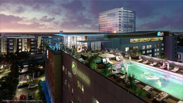 Midtown hotels to open in January, businesses to follow weeks later