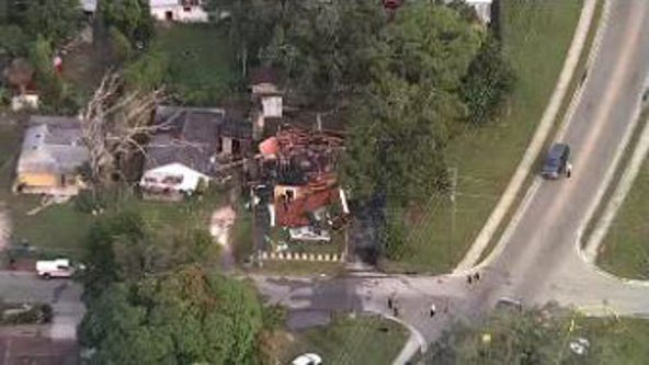 Manatee County house explosion injures 3, including a firefighter