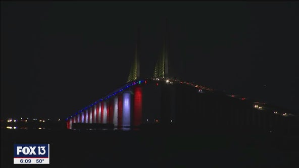 Design flaw to blame for malfunctioning Skyway Bridge lights