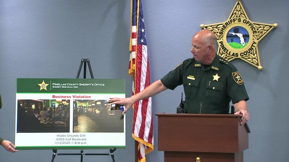 'It's a big deal': Pinellas sheriff warns businesses to comply with COVID regulations
