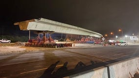 Howard Frankland Bridge back open after overpass removal on Pinellas side
