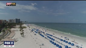 Drone Zone: Tropical vibes on Clearwater Beach