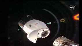SpaceX cargo Dragon undocks from ISS ahead of splashdown near Florida