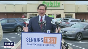 DeSantis says second vaccine doses will no longer be held back