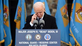 Biden leaves Delaware home town for inauguration in 'deeply personal' send-off