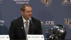 'I am thrilled' UCF's Josh Heupel leaves to become Tennessee's head coach