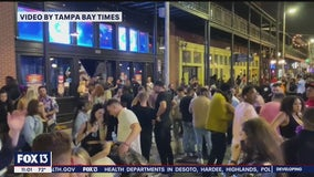 Packed bars, streets in Ybor City shine light on rising number of COVID-19 cases