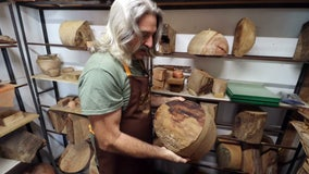 Retired firefighter turns old trees into new treasures