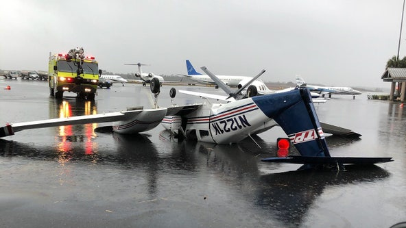 No reported injuries after tornado hits Tallahassee airport