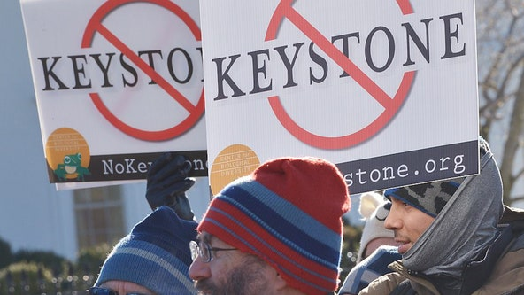 Keystone XL oil pipeline construction stops as Biden moves to revoke permit