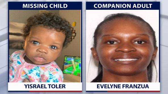 Florida missing child alert issued for Jacksonville baby