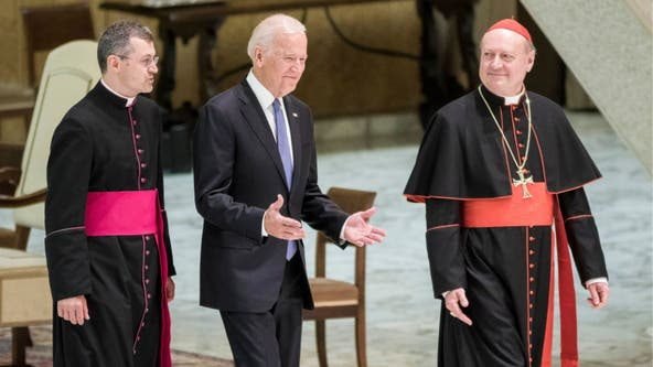 Biden making history as the country's second Catholic president
