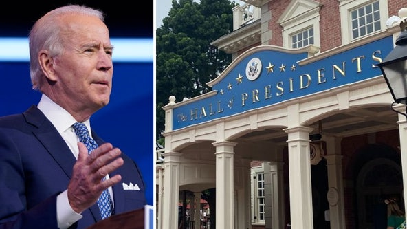 Walt Disney World adding animatronic Joe Biden to Hall of Presidents in Magic Kingdom