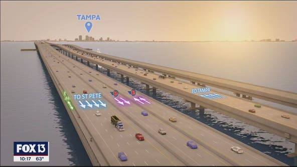 Howard Frankland Bridge to close this weekend for overpass removal on Pinellas side