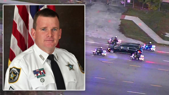 Hillsborough community says farewell to corporal killed in line of duty