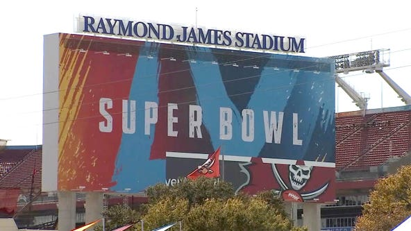 Tampa prepares for Super Bowl as Bucs get ready for historic home game