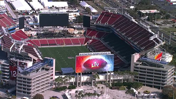 Raymond James Stadium is a 'No Drone Zone' on Super Bowl Sunday; violators could face $30,000 fine