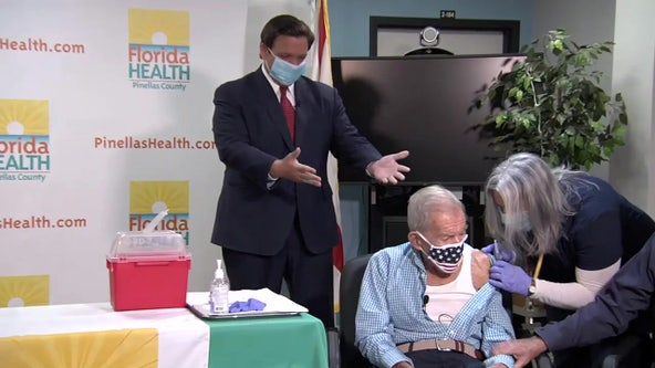 DeSantis touts progress vaccinating seniors, asks for more vaccines