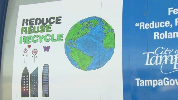 City of Tampa's 3Rs Art and Poetry contest to raise awareness for environmental stewardship
