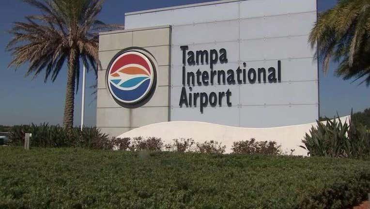 Tampa International Airport sign
