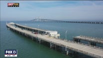 Drone Zone: Sunshine Skyway Fishing Pier