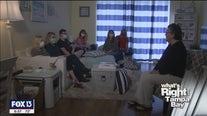 Teachers support guidance counselor through second cancer fight