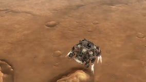 NASA prepares for Mars landing