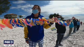 COVID Ribbon Memorial in Anna Maria Island shows grim toll of deadly virus