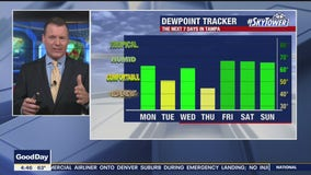 Monday morning forecast