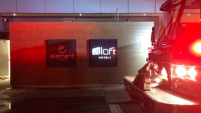 Clothes dryer sparks fire at Aloft hotel in Midtown, firefighters say