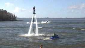 On Lake Eloise, Legoland Florida launches pirate-themed watersports stunt show