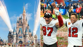 'We're going to Disney World!': Brady, Gronk to celebrate Super Bowl win at Disney World