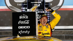 Michael McDowell wins rain-delayed Daytona 500 after last-lap wreck