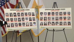 Operation Game Over: 75 arrested in Super Bowl human trafficking sting, sheriff says