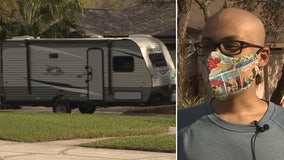 Through Make-A-Wish, 14-year-old boy can hit the road to explore the country