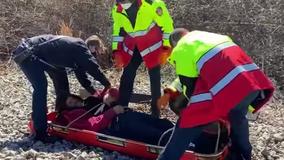Alert CSX engineer stops train, saving homeless man fallen on the tracks in Marietta