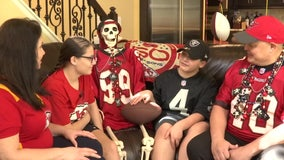 Super Bowl Sunday matchup splits Land O' Lakes family in half