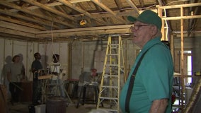 Instead of writing a citation, code enforcement team helps veteran move back into home damaged by fire