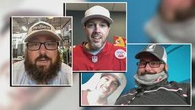 Bucs fan finds 'Frank,' his Super Bowl cardboard cutout seatmate
