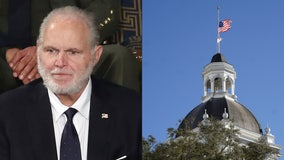 Flag over Florida Capitol lowered to honor Rush Limbaugh, despite opposition