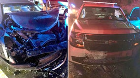 Wrong-way driver crashes into deputy patrol car on I-75, troopers say